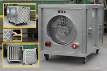 Mobilní filtrační jednotky pro odsávání azbestu