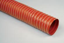 Vzduchotechnická hadice pro vysoké teploty SILICON P4